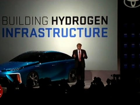 Toyota outlines hydrogen fuel cell ambitions