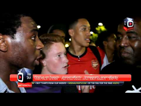 Arsenal FC Fans Going Mental With AFTV After Ozil Signing At The Emirates - ArsenalFanTV.com