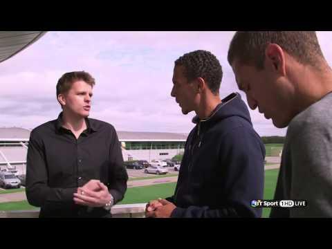 Rio Ferdinand & Nemanja Vidić Interview