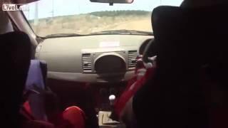 Hilarious Rally Car Onboard Navigation