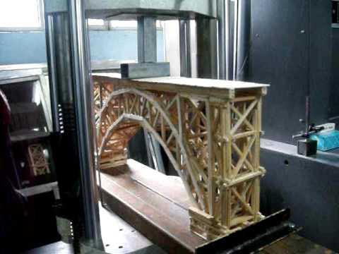 Concurso de puentes de madera UAQ