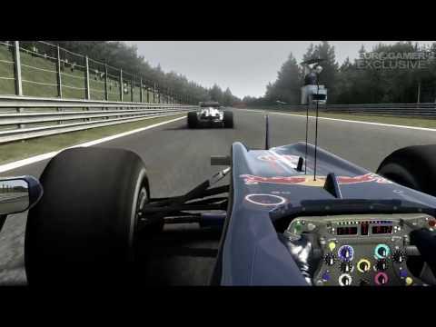 F1 2010 - Dev Diary : создание трасс и машин