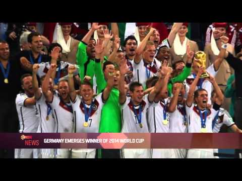 GERMANY EMERGES WINNER OF 2014 WORLD CUP - EL NOW News