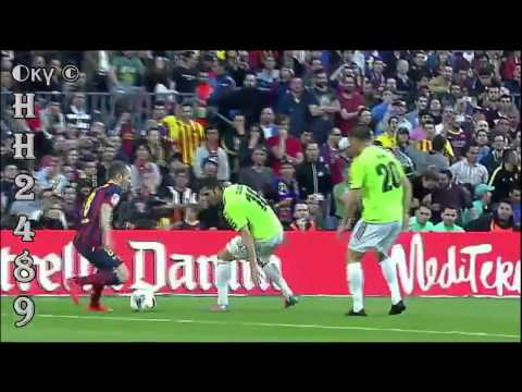 Barcelona vs Osasuna 7-0 ~ ALL GOALS HD ~ Barcelona 7 0 Osasuna ~ MESSI HATTRICK ~ 16-03-2014