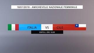 Amichevole, Nazionale Femminile: Italia vs Cile (Live) - 18:00