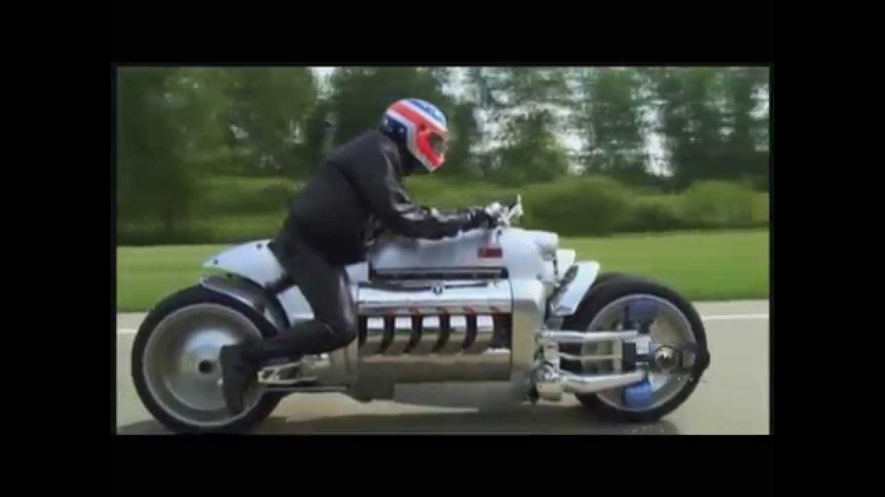 Dodge Tomahawk Test Ride - YouTube