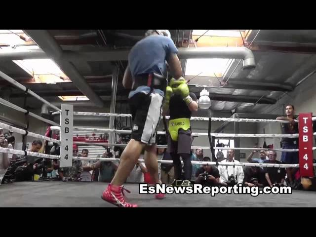canelo alvarez vs perro angulo trainer excited about fight esnews Boxing