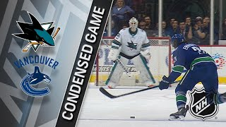 12/15/17 Condensed Game: Sharks @ Canucks