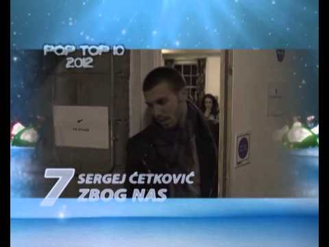 POP TOP 10 // Top lista najsluanijih pop hitova u 2012-toj godini!