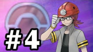 Let's Play Pokemon: Platinum Part 4 Oreburgh Gym
