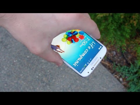 Samsung Galaxy S4 Drop Test & Durability Video, The Samsung Galaxy S4 Drop Test is finally here! Find out how well the new Gorilla Glass 3 stands! LIKE MY FACEBOOK:https://www.facebook.com/pages/TechRax/19...