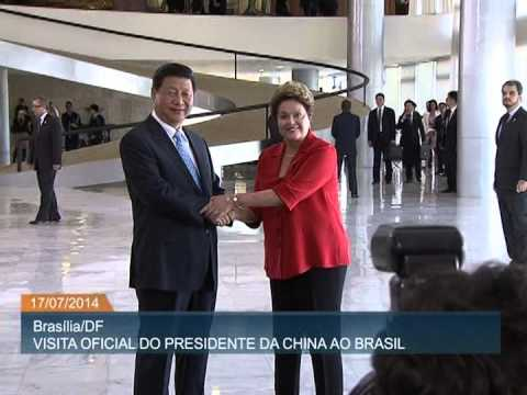 Brasil recebe visita oficial do presidente chinês Xi Jinping