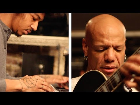 Mark Whitfield and Davis Whitfield perform Willow Weep For Me at Smalls Jazz Club, NYC