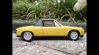 VW Porsche 914 1:18 scale, by Revell