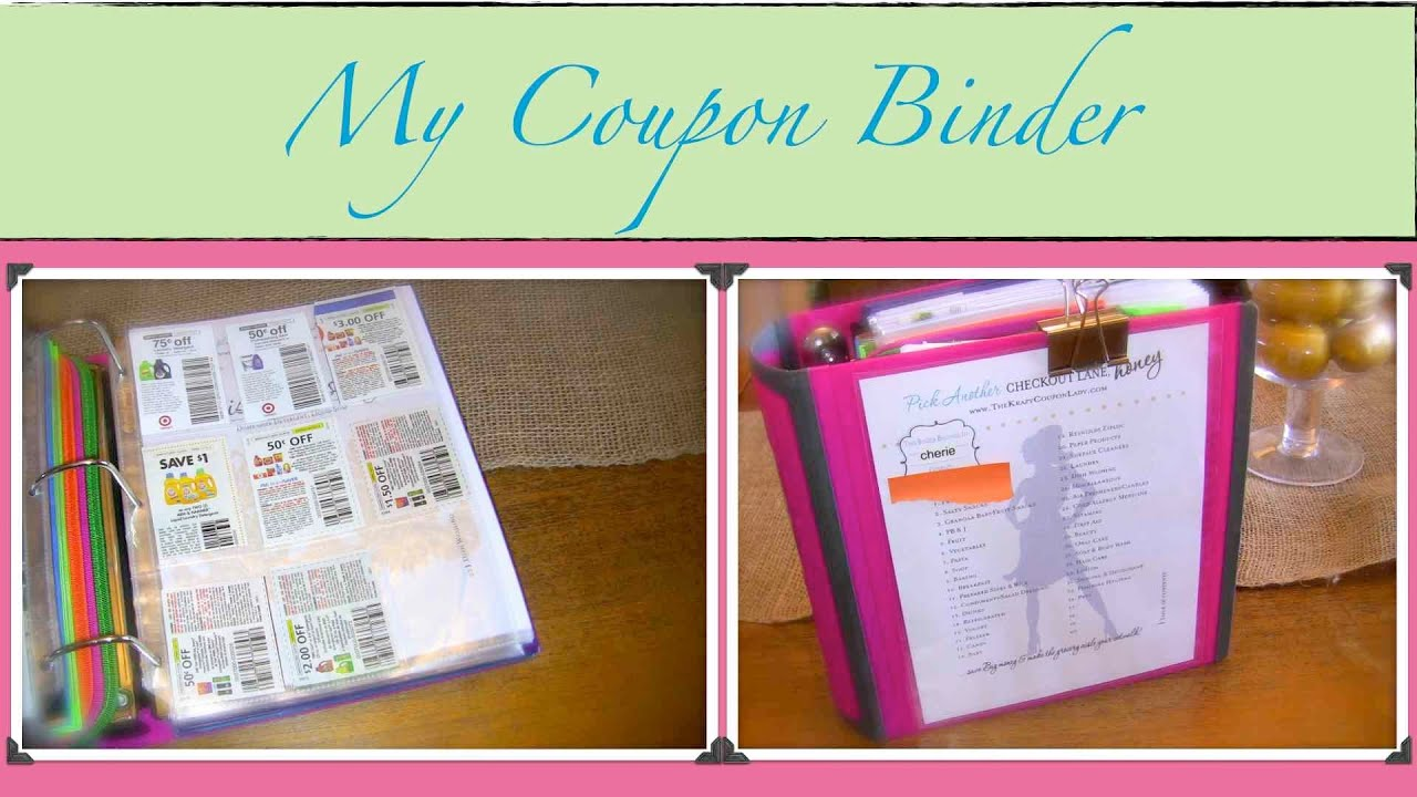 Krazy coupon lady binder printables