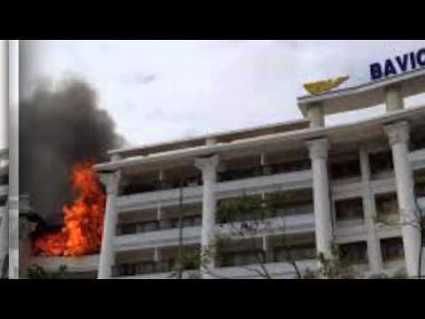Cháy khách sạn 5 sao lớn nhất ở Đà Lạt
