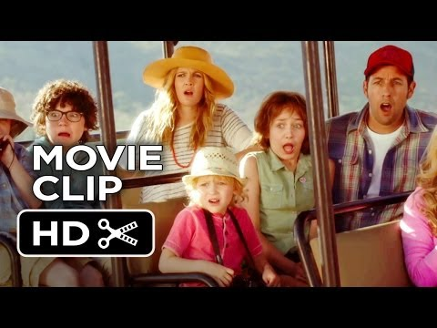 Blended Movie CLIP - Blended Families (2014) - Drew Barrymore, Adam Sandler Comedy HD
