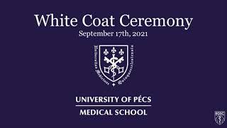 PTE ÁOK White Coat Ceremony 2021