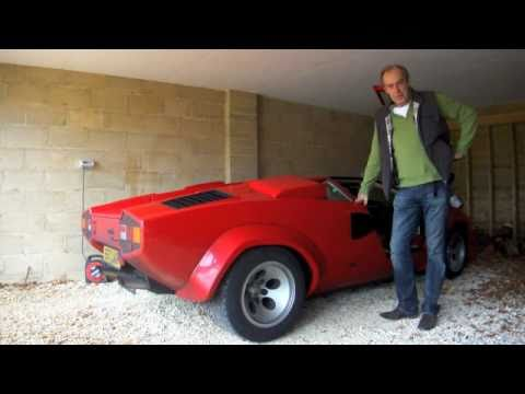 Lamborghini Countach QV 1200 mile drive back to the UK - evo Magazine