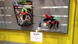 Lego Hero Factory Toy Fair 2014