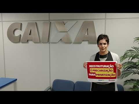 Dia Nacional de Luta contra o desmonte da Caixa - Larissa Cunha