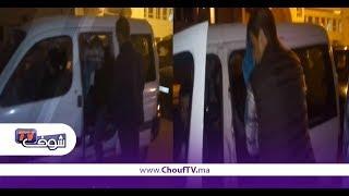 حصري و بالفيديو..لحظة القبض على الشاب اللي شرمل بوليسي فكازا | قنوات أخرى