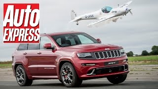 Jeep Grand Cherokee SRT vs a stunt plane: place your bets!. Auto Express.