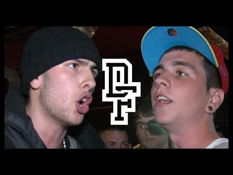 DON'T FLOP - Rap Battle - Lunar C Vs Bloodstro