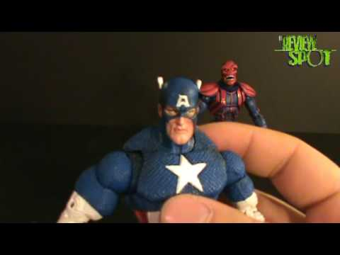 Toy Spot - Marvel legends face off Captain America vs Red Skull