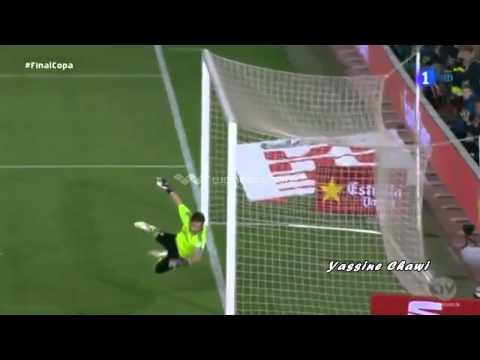 Barcelona vs Real Madrid 1-2 2014 Final Copa Del Rey Gareth Bale Goal HD 17/04/2014