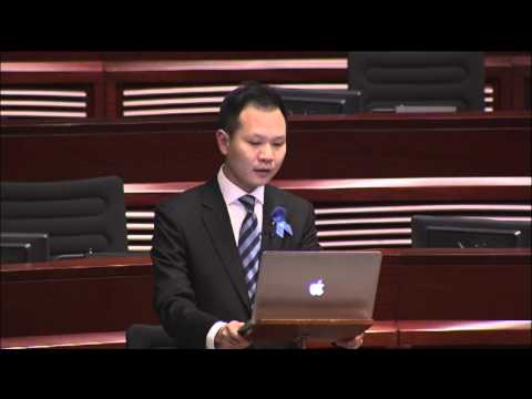20140320 Speech on the Motion of LAU Chun-to incident