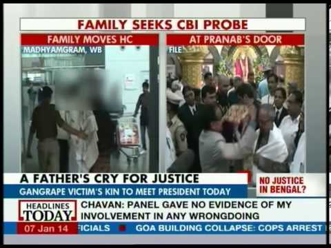 Kolkata gang rape victim's father to meet Pranab today
