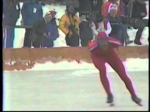 1984 Winter Olympics – Men's 5000 Meter Speed Skating – Part 2