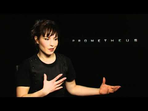 "Prometheus Special - Noomi Rapace interview: ""so afraid"""