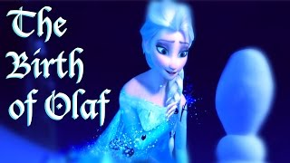 Fan-made Frozen Storyboard The Birth Of Olaf (HD)