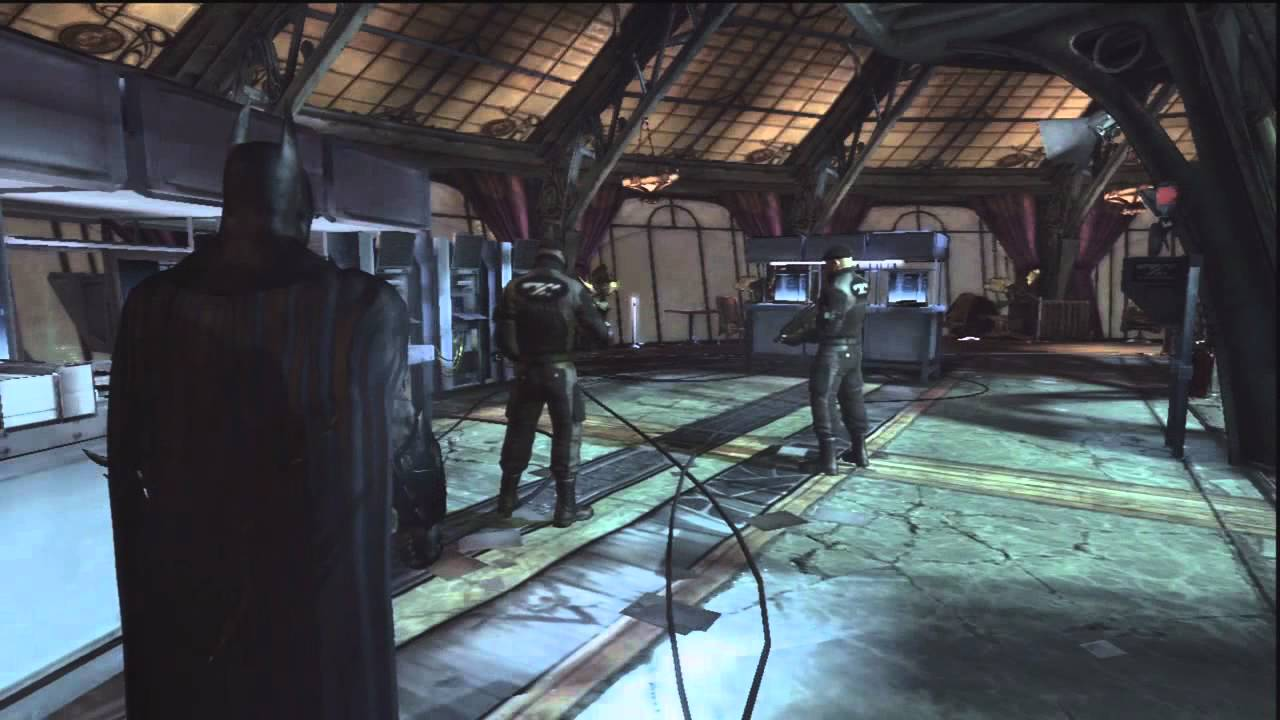 How To Get In Wonder Tower In Batman Arkham City