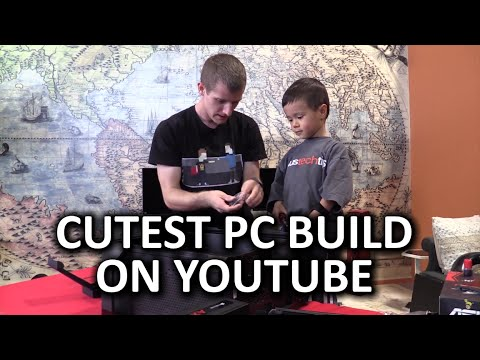 PC Building with my 3 Year Old