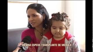 Menina que precisa de transplante de medula faz apelo 'fofo'