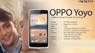 OPPO YoYo R2001 2014 Harga, Spesifikasi, Gambar Terbaru