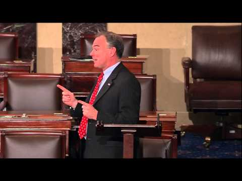 Tim Kaine Speaks on the Urgency of Climate Change Action (3/10/14)