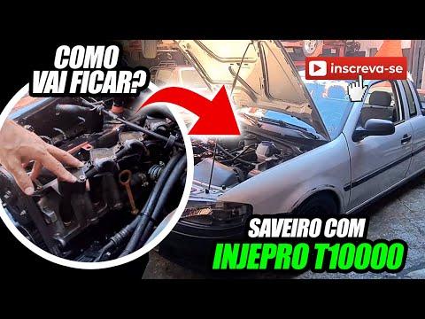 Saveiro da Escola de Garagem com T10000!