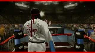 "Ricky ""The Dragon"" Steamboat WWE 2K14 Entrance And"