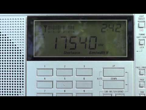 Urban DXpedition Radio Impala french from Madagascar 17540 khz