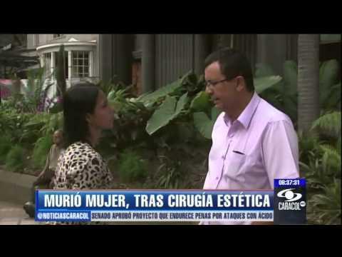 Van tres mujeres muertas por cirugías plásticas en dos meses en Medellín - 29 de mayo de 2013