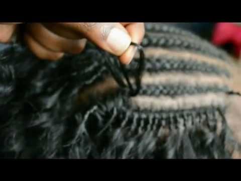 Crochet Hair Tutorial Youtube : How to do Crochet Braids (Latch/Hook Hair) Tutorial - YouTube