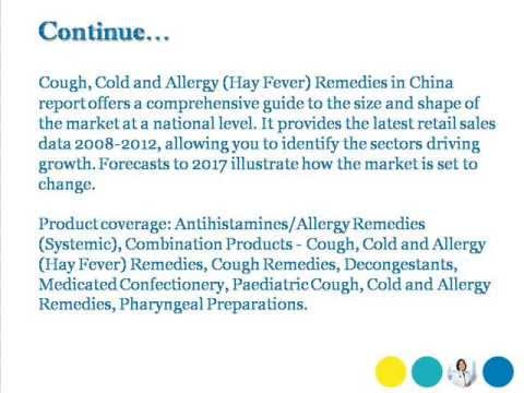 Bharat Book Presents : Cough, Cold and Allergy (Hay Fever) Remedies in China