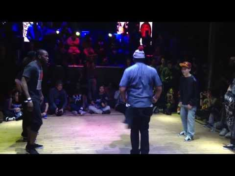 Jan Boogie Frantick vs  Hugo Hugz Pop Menard, Ford FWD Mckeown  | Juste Debout USA 2014 | Top8