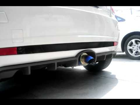 Satria Neo CPS - PMS Exhaust Sound (TEST1)