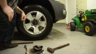 How To Extract Or Remove Broken Or Stubborn Locking Lug
