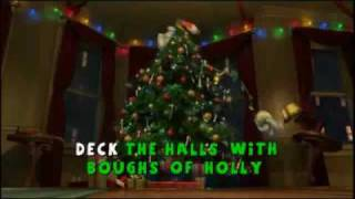 The Penguins Of Madagascar Deck The Halls